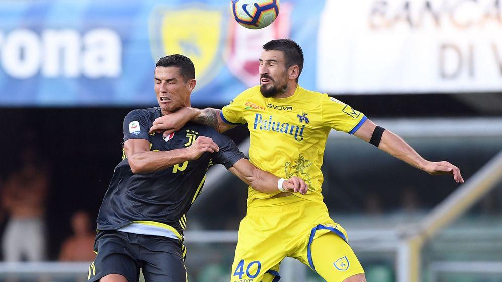 Foto: Cristiano se estrenó con victoria en la Serie A, pero no pudo marcar. (Reuters)