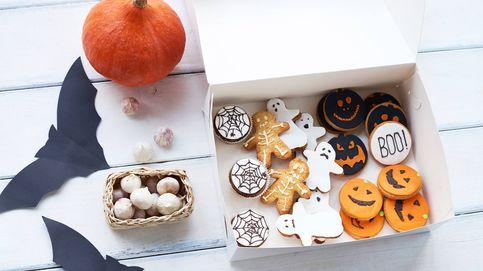 Aprovecha las sobras para hacer unas galletas de Halloween de miedo