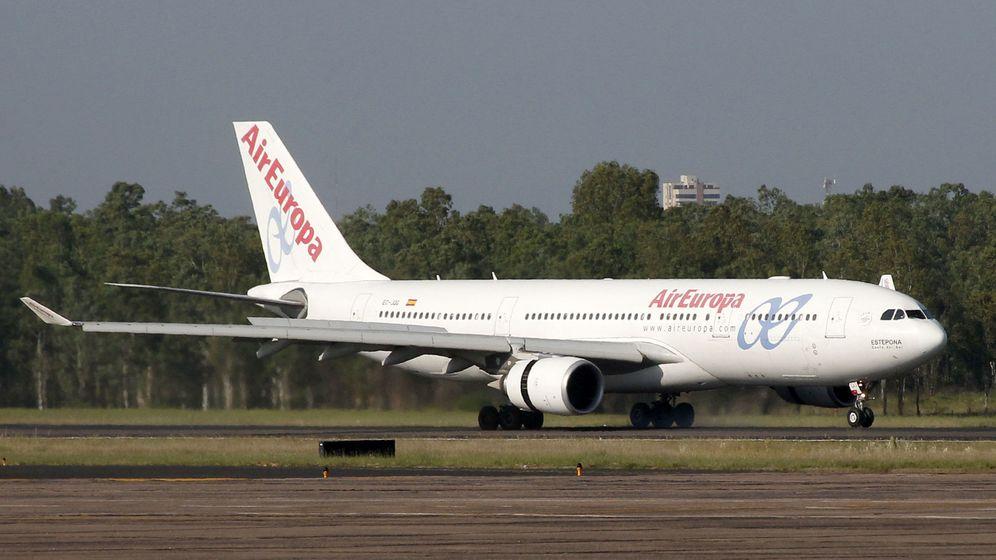 Foto: Avión de Air Europa (Efe)