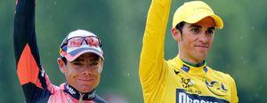 """Cadel Evans cree en la """"inocencia"""" de Contador"""