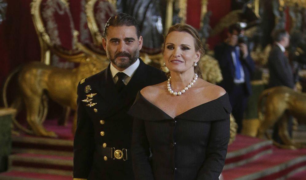 Foto: Ainhoa Arteta y Matías Urrutia en una imagen de archivo. (Gtres)