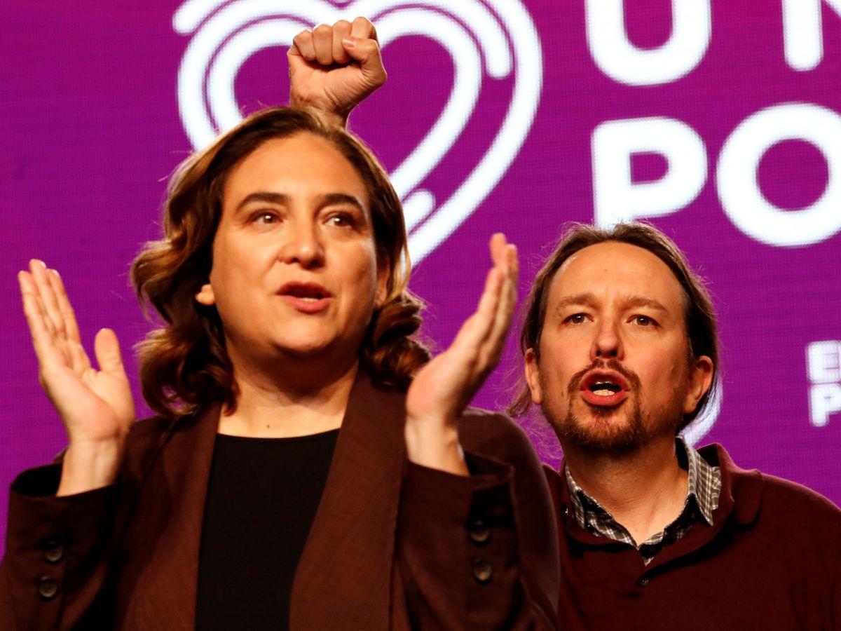 Foto: Ada Colau y Pablo Iglesias, en una imagen de archivo. (Reuters)