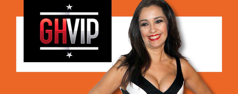Foto: Carmen López, política díscola de Ciudadanos, entra en GH VIP, en un montaje de Vanitatis