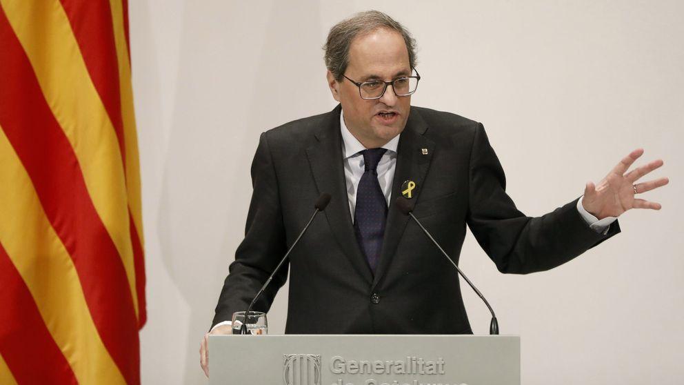 Torra: Habría una crisis de Govern si ERC o PDeCAT se desmarcaran al votar los PGE