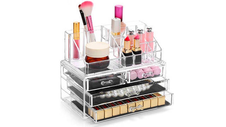 Organizador de maquillaje Display4top tipo estante