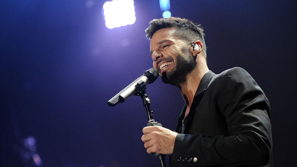 Ricky Martin se va de fiesta con Esther Cañadas y Jon Kortajarena en Miami