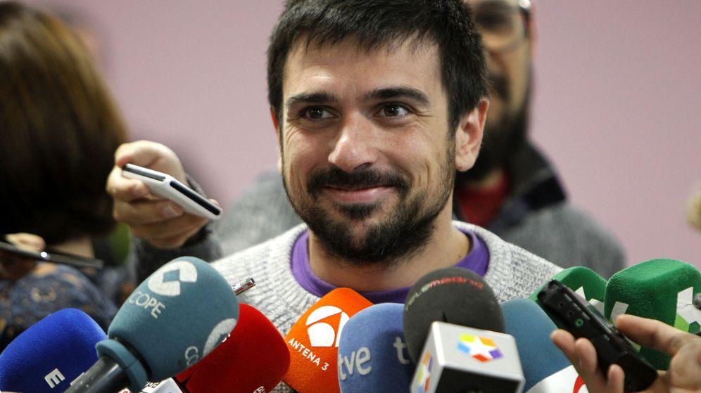 Foto: El nuevo secretario general de Podemos en la Comunidad de Madrid, Ramón Espinar. (EFE)