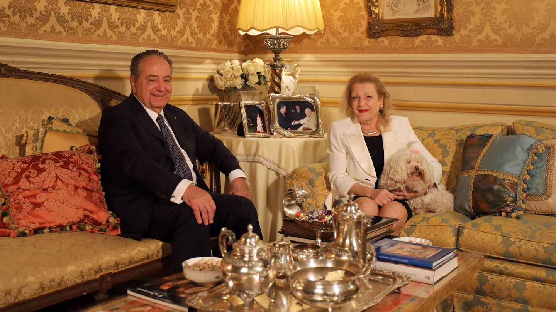 El embajador de Italia Roberto Bettarini y su esposa, padres de la prometida del gran duque. (Foto: Cancillería de la Casa Imperial de Rusia)