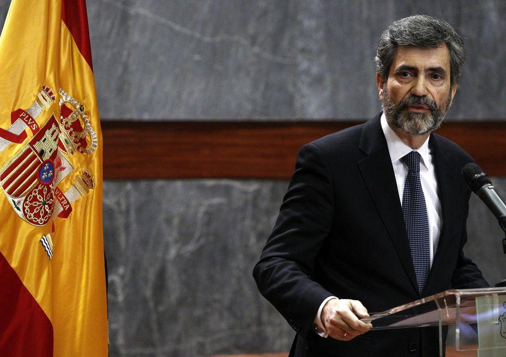 Foto: El presidente del Tribunal Supremo y del CGPJ, Carlos Lesmes (EFE)