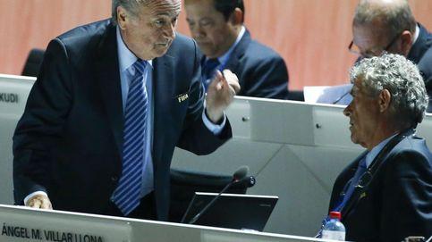 Villar se topa con García: será multado y amonestado por obstrucción a la FIFA