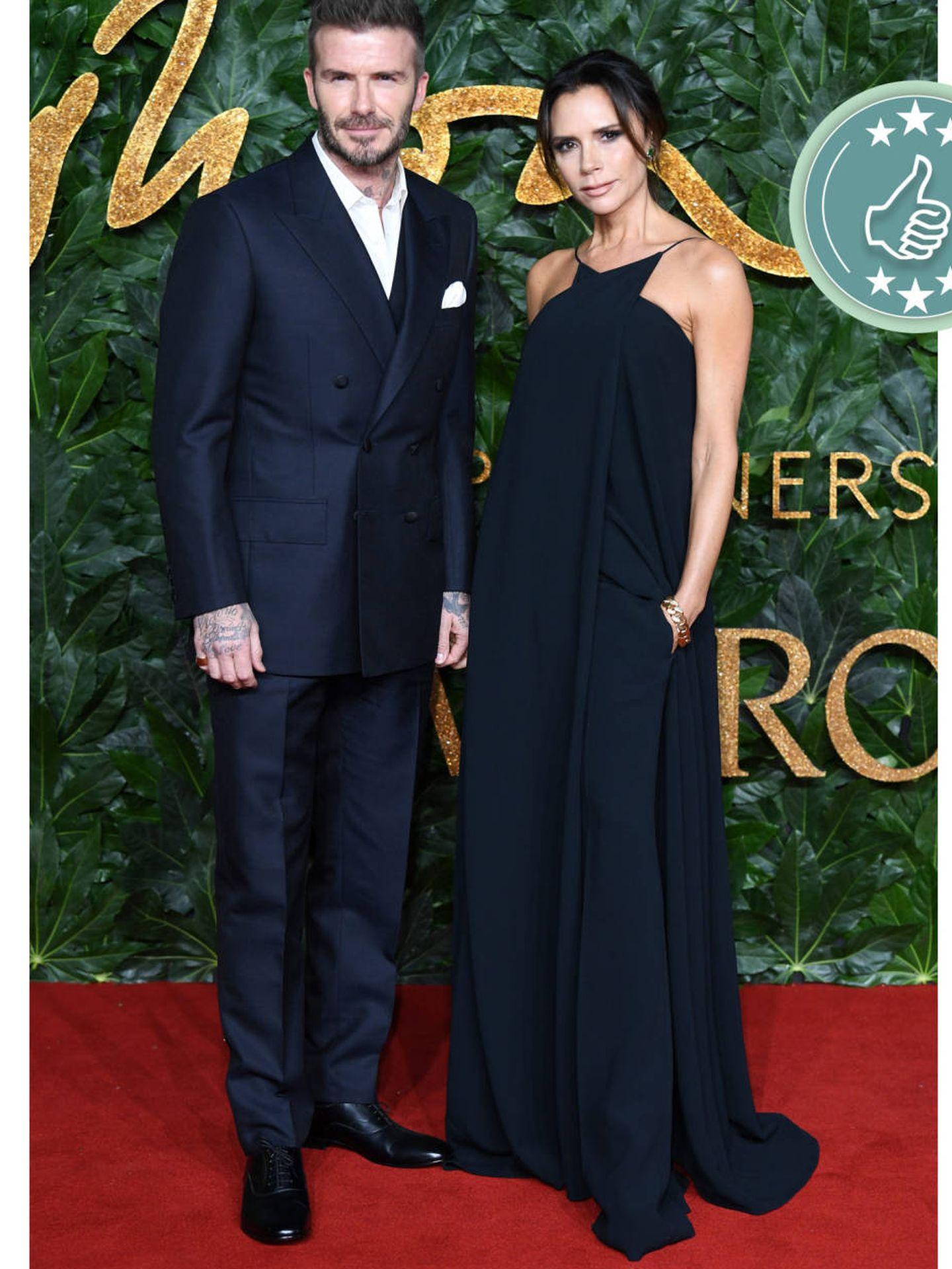David y Victoria Beckham. (Cordon Press)