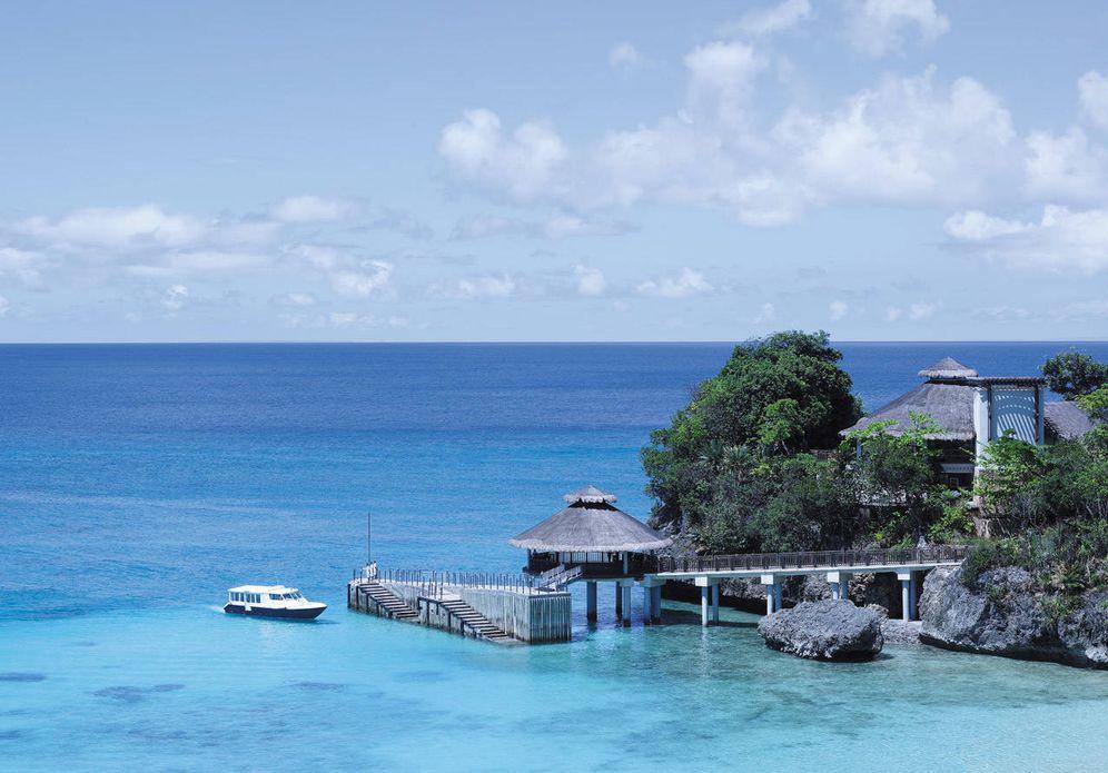 Foto: El hotel Shangri-La's Boracay Resort, en Filipinas.