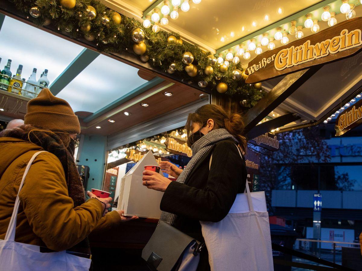 Foto: Mercado navideño en Berlín. (EFE)