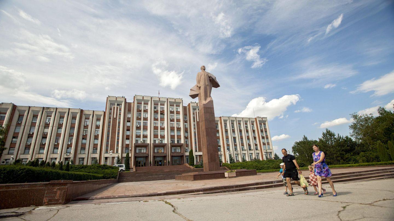 El Consejo Supremo de autoproclamada República de Transnistria en Tiraspol. (EFE)