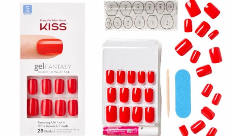 Kit de manicura Press On de Kiss.