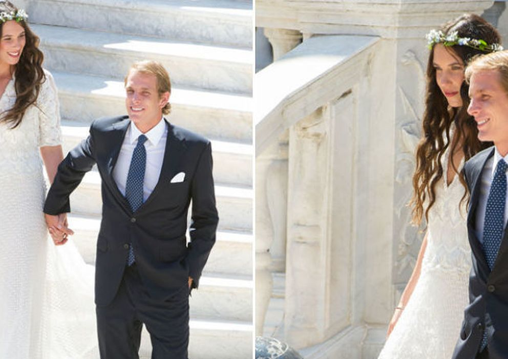 Matrimonio Simbolico Santo Domingo : Así fue la primera boda de andrea casiraghi y tatiana