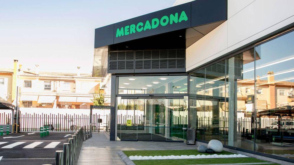 Foto: La tienda que acaba de abrir Mercadona en Peligros (Granada).