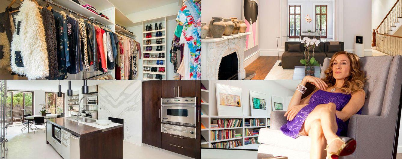 Foto: Sarah Jessica Parker acaba de cerrar la venta de una casa con cinco plantas en el centro de Nueva York (Vanitatis)