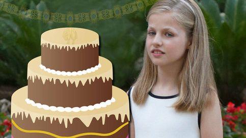 La princesa Leonor sopla 11 velas sin su prometido Toisón de Oro
