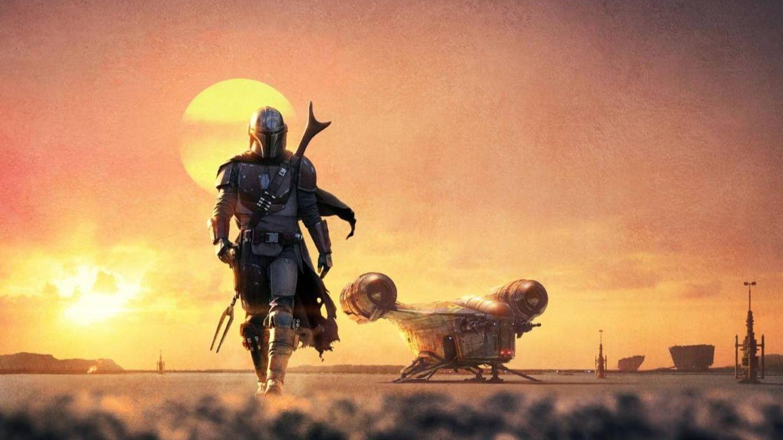 Cartel promocional de 'El mandaloriano'. (Lucasfilm Ltd)