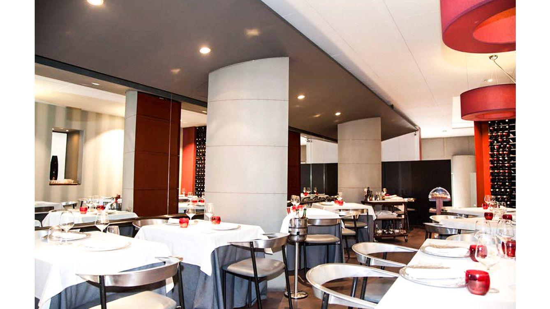 Foto: Vista interior del Restaurante Gala.