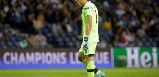 Post de Casillas se estrena en la Champions con derrota y Guardiola, con una goleada
