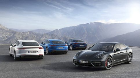 Así es la gama Porsche Panamera híbrida