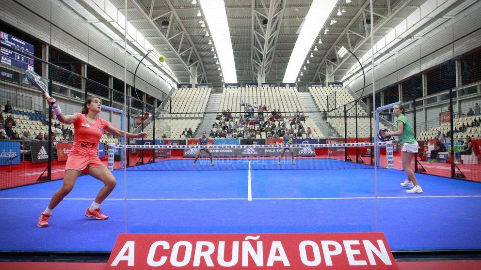 El A Coruña Open de pádel entra en su recta final con puntos increíbles