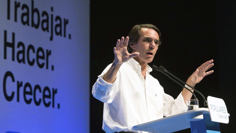 Nuevo toque de Aznar a Rajoy: Más reflexión sobre el 27S y menos ataques
