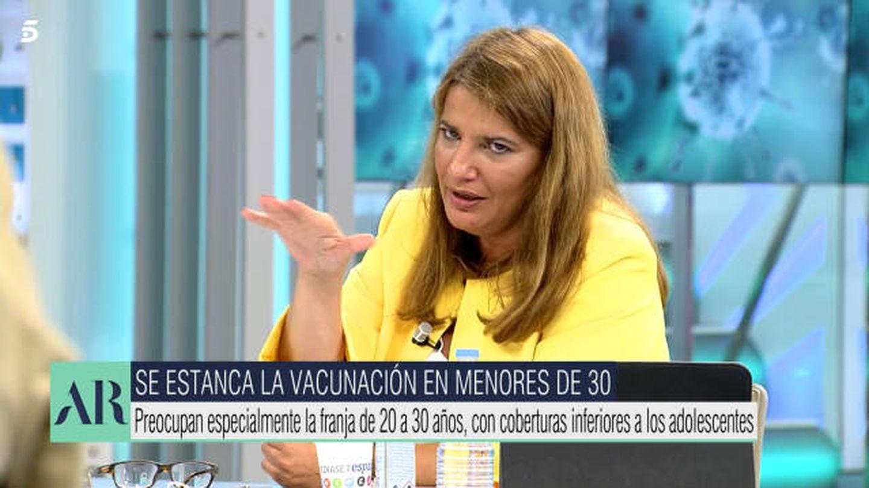 María Claver, en 'El programa de AR'. (Mediaset)