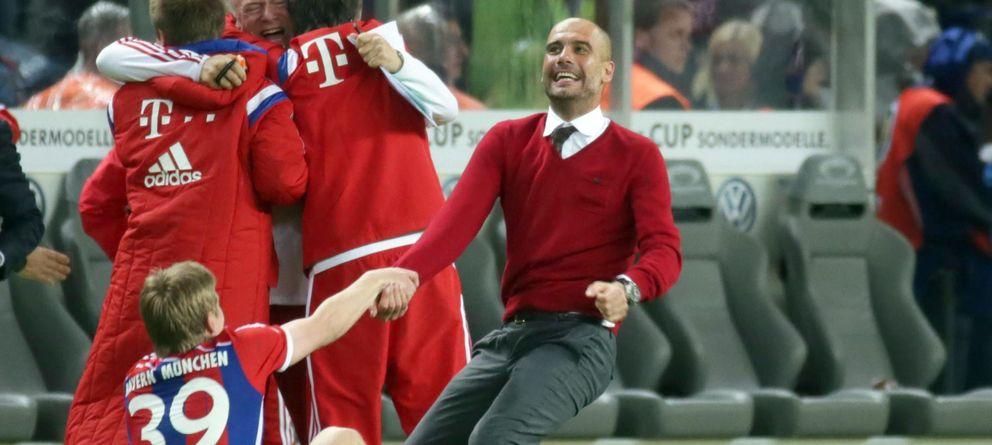 Guardiola cierra la temporada con un nuevo título y se venga del Borussia de Klopp