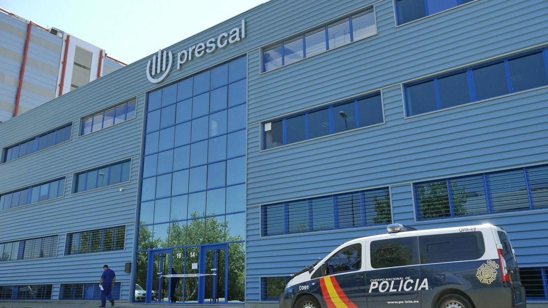 Foto: La Policía Nacional registra Prescal, la cúspide del hólding de Ángel Ojeda Avilés (EFE)