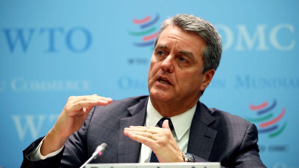 Foto: Roberto Azevedo dimite como director de la OMC. (EFE)