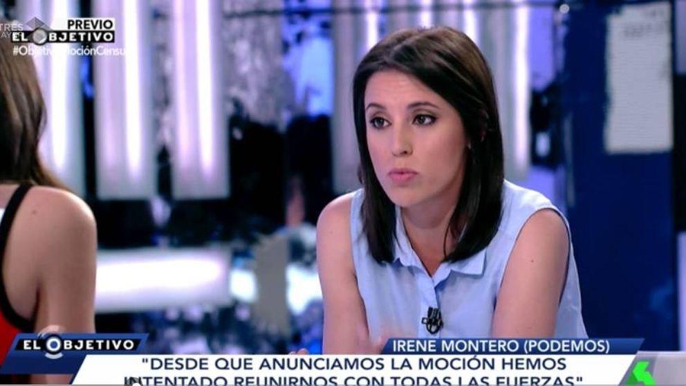 Irene Montero pasa por 'El objetivo de Ana Pastor' sin responder una  pregunta