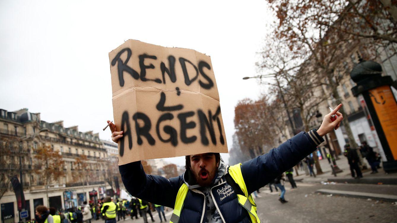 Foto: Nueva jornada de protestas de los 'chalecos amarillos' en Francia