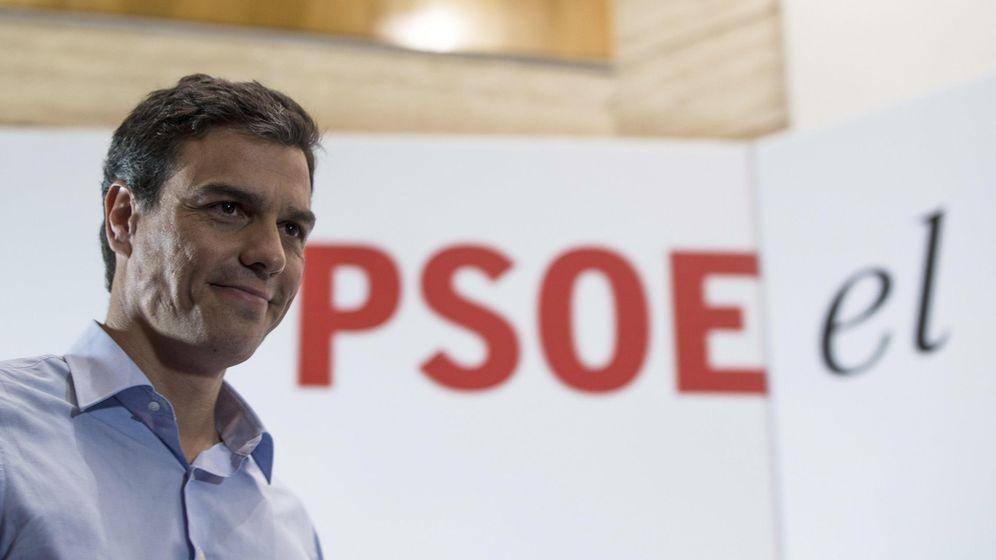 Foto: El secretario general de PSOE y candidato a la Presidencia del Gobierno, Pedro Sánchez. (EFE)