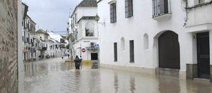 Foto: El desbordamiento del arroyo Argamasilla provoca la quinta inundación en Écija