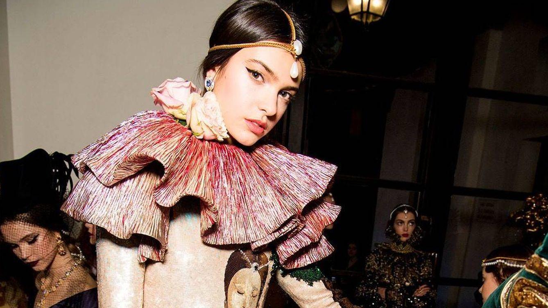 Foto: Domenico y Stefano han decorado las melenas. (Cortesía Dolce & Gabbana)