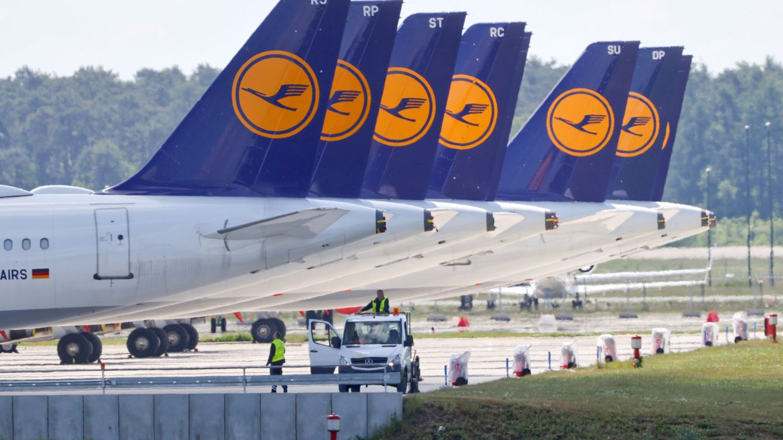 Lufthansa acepta el plan de rescate de 9.000 millones del Gobierno alemán