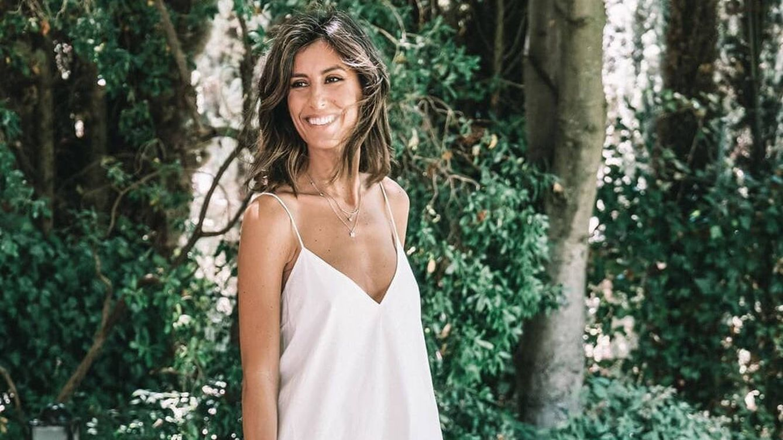 El curioso y estratégico vestido de Ana Boyer