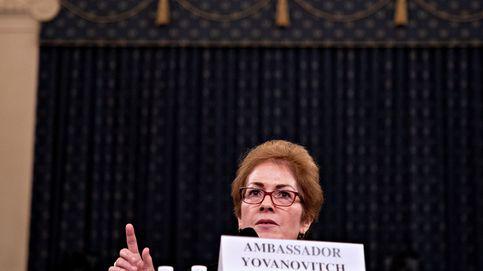 Trump intimida a la exembajadora en Ucrania en pleno testimonio en el Congreso