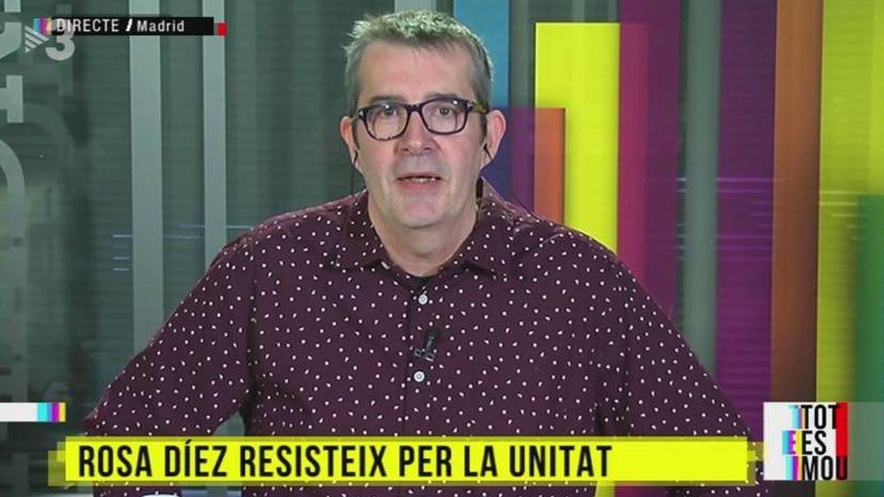 Foto: Max Pradera, en 'Tot es mou'. (TV3).