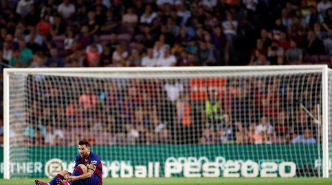 La lesión de Leo Messi: elongación en el abductor del muslo izquierdo