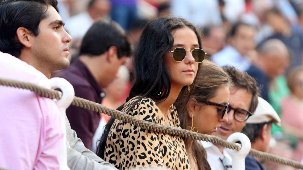 Foto: Victoria Federica, en la Plaza de toros de Málaga (Cordon Press)
