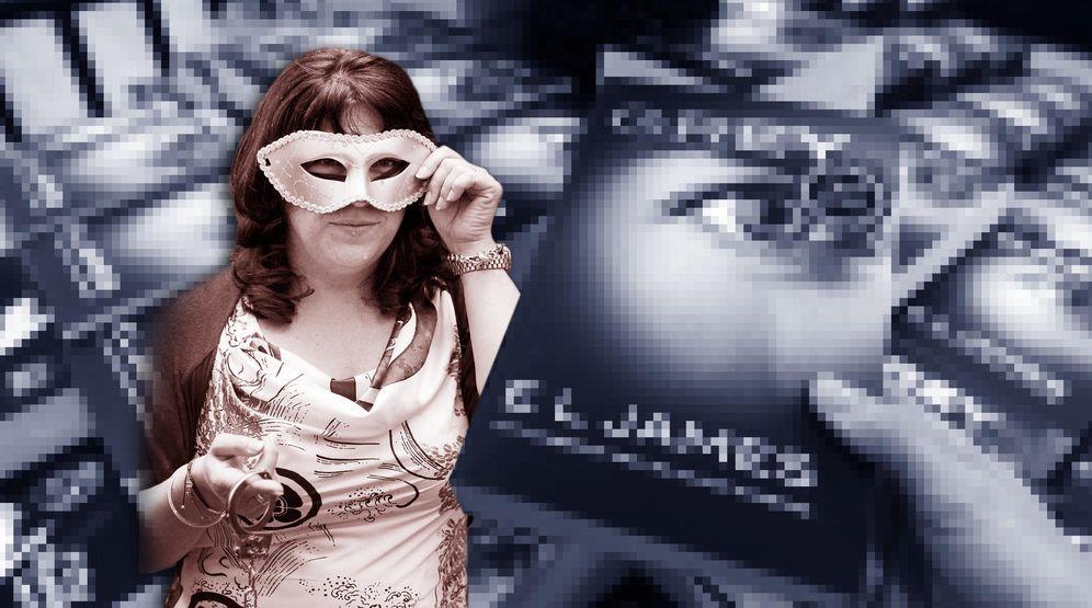 Foto: E.L.James, la reina de la novela erótica redobla los latigazos