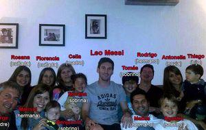 El clan Messi hace piña de cara a la gran final de Liga