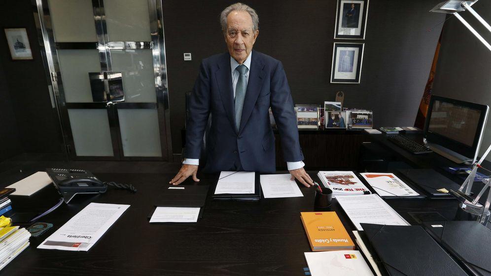 Foto: Juan Miguel Villar Mir en su despacho