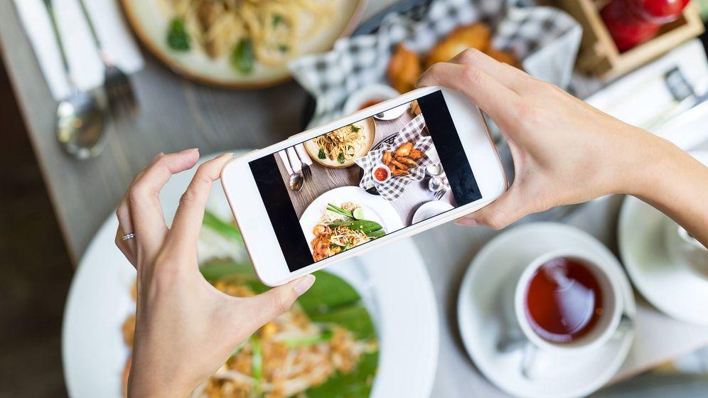 Foto: Los selfies son cosa del pasado, ahora se lleva la comida. (Adglow)
