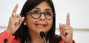 Post de Delcy Rodríguez acusa a la derecha española de doble moral por el apoyo a Guaidó