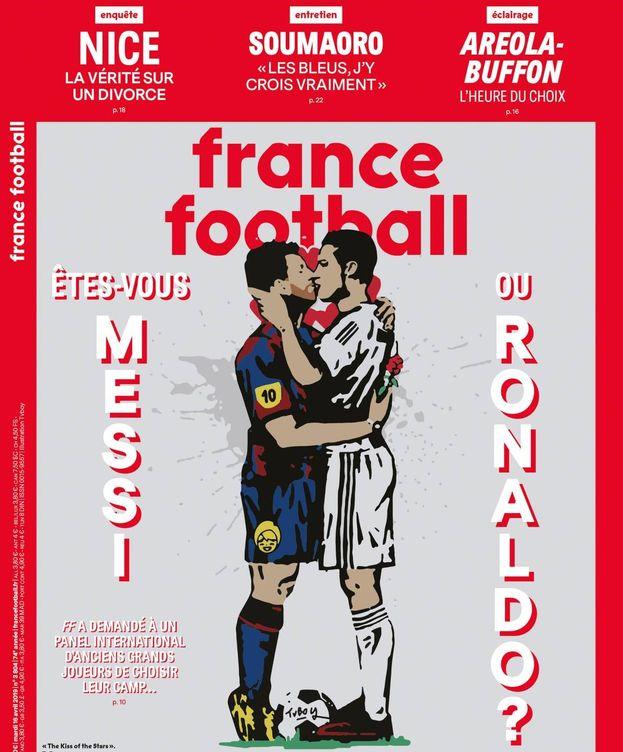 Foto: ¿Eres Messi o Ronaldo?, de France Football.